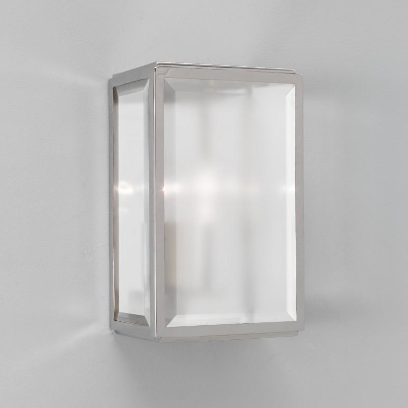 applique murale homefield nickel verre d poli astro lighting. Black Bedroom Furniture Sets. Home Design Ideas