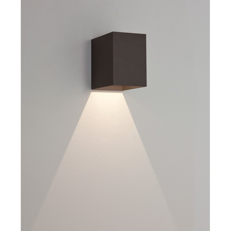 Applique murale ext rieure led oslo 100 noire astro lighting for Applique murale exterieure led