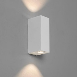 Applique LED Up & Down Bloc blanche