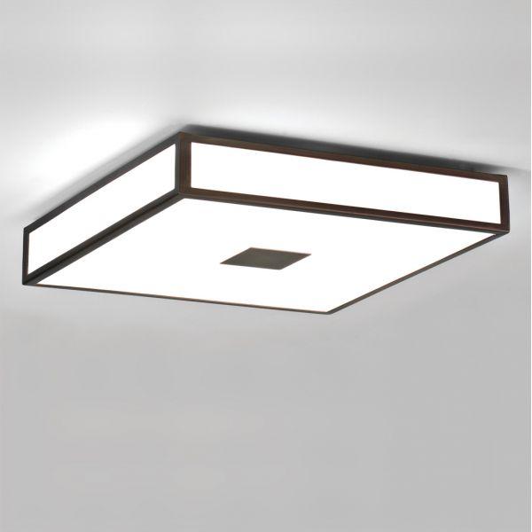 Plafonnier mashiko 400 bronze astro lighting for Plafonnier salle de bains