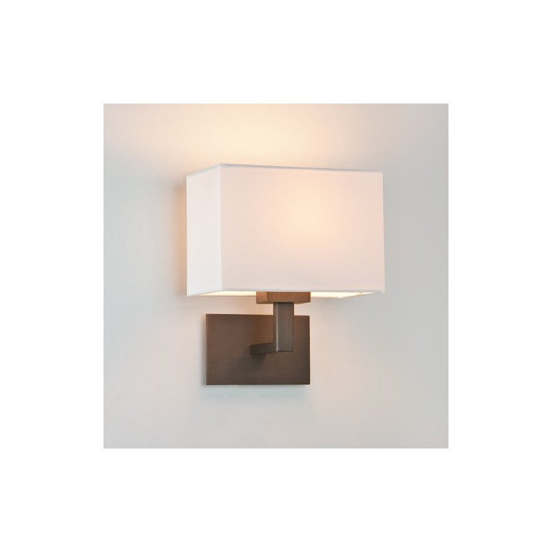 Applique murale connaught bronze astro lighting - Hauteur applique murale ...