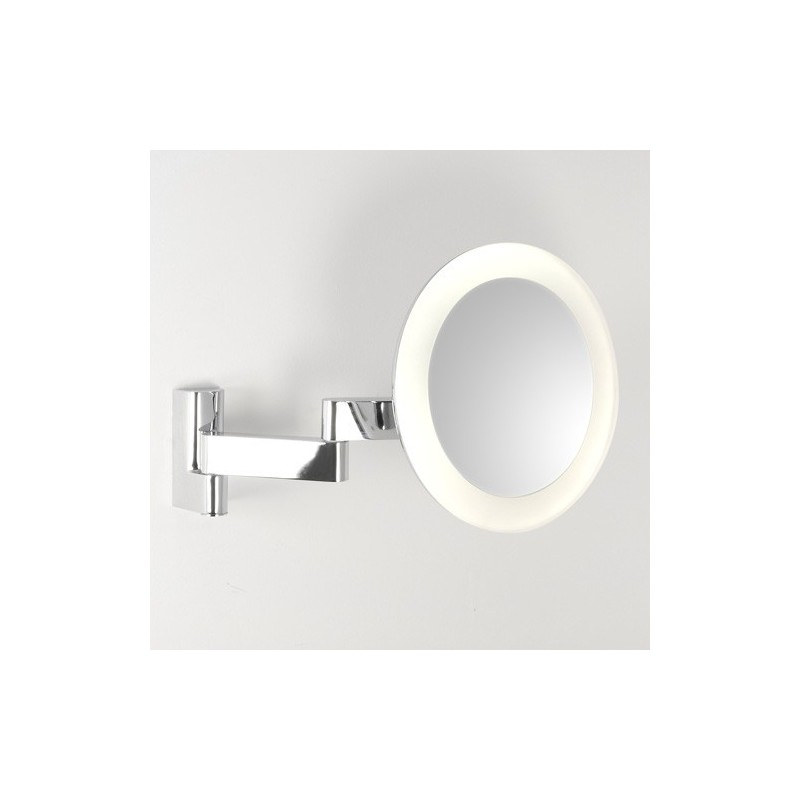 Miroir grossissant led niimi rond astro lighting for Miroir grossissant