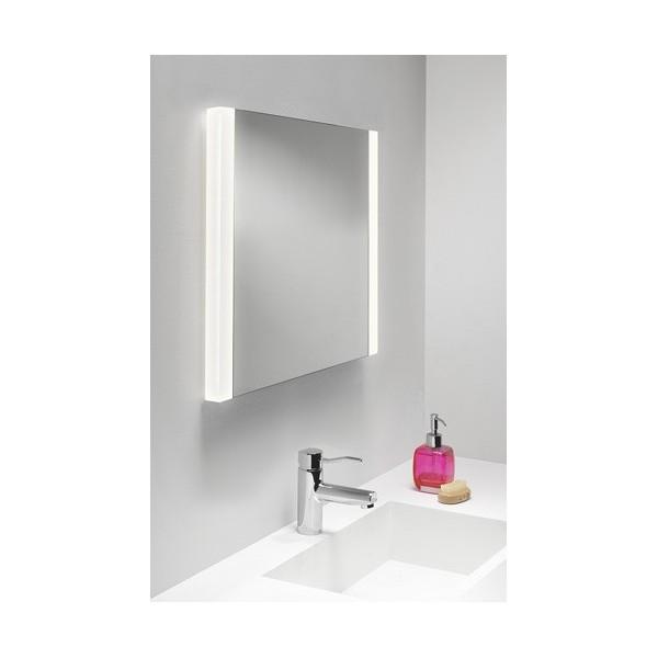 Miroir lumineux chauffant calabria astro lighting - Miroir salle de bain chauffant ...