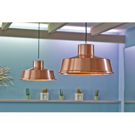 Suspension faktory 50cm cuivre roger pradier for Luminaire exterieur zinc