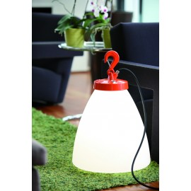 Lampe à poser Grumo 60cm Rouge Roger Pradier