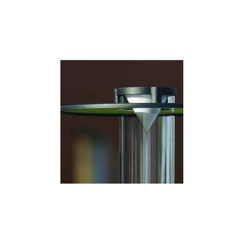 Applique murale olympic 2 61cm gris anthracite roger pradier for Applique murale exterieure gris anthracite