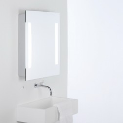 Armoire lumineuse à miroir Livorno