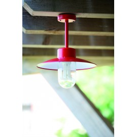 Suspension Belcour Rouge
