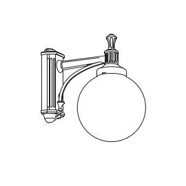 luminaire boule 200 roger pradier en livraison offerte. Black Bedroom Furniture Sets. Home Design Ideas
