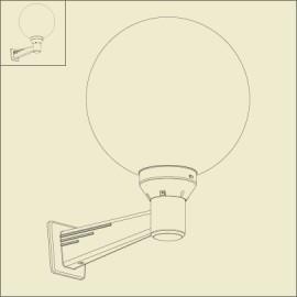 Luminaire espace roger pradier livraison gratuite la for Applique murale en anglais