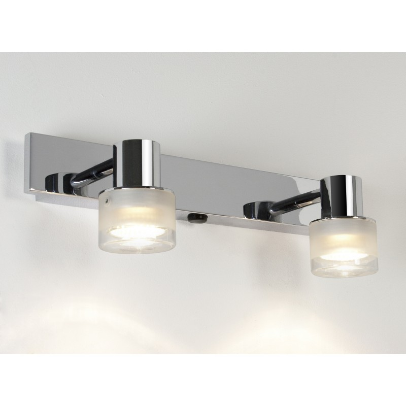 Spot tokai double astro lighting for Luminaire salle de bain spot