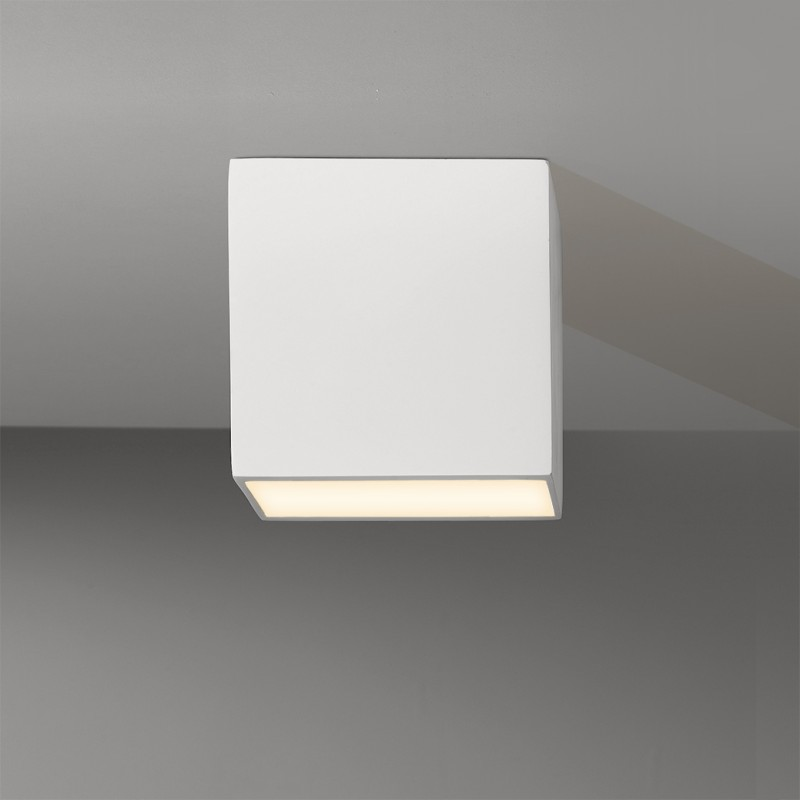 Plafonnier led oscal carr astro lighting - Plafonnier salle de bain ip44 ...
