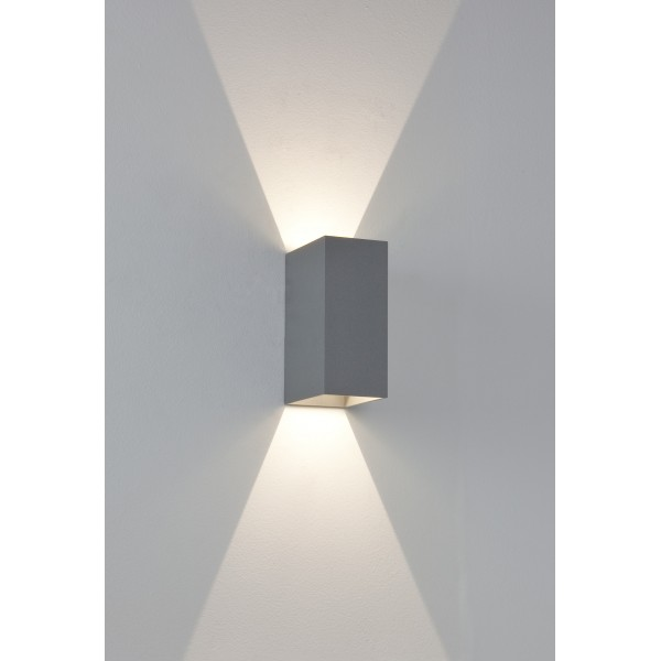 Applique murale ext rieure led oslo 160 astro lighting for Appliques exterieures led