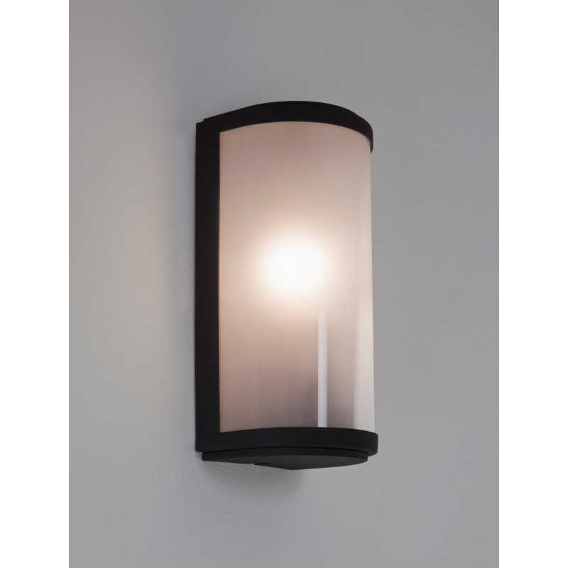 Applique murale ext rieure paros verre opale astro lighting for Hauteur applique murale exterieur