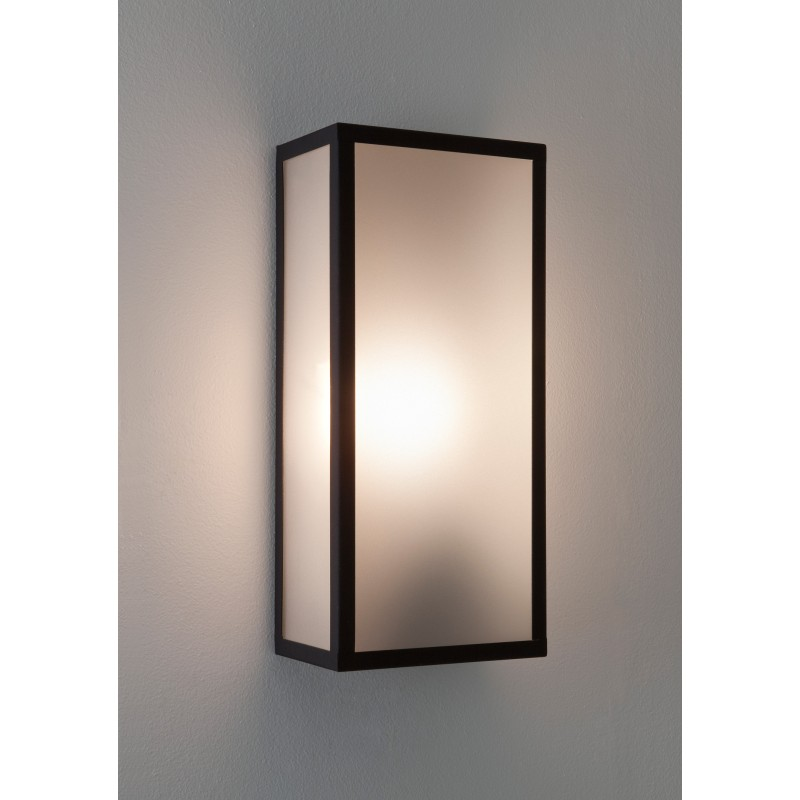 applique murale ext rieure messina verre opale astro lighting