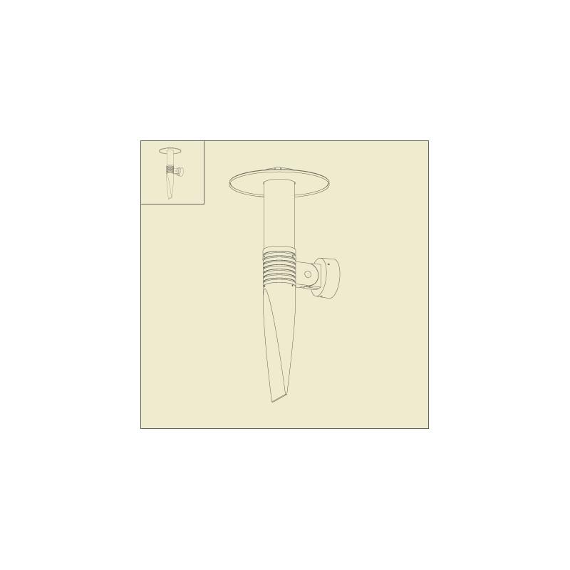 applique murale olympic 2 61cm rouge roger pradier. Black Bedroom Furniture Sets. Home Design Ideas