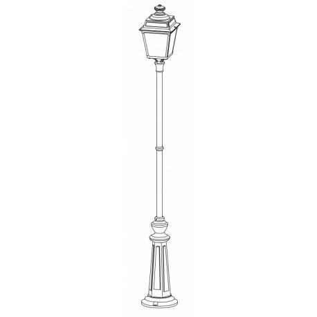 lampadaire anglais