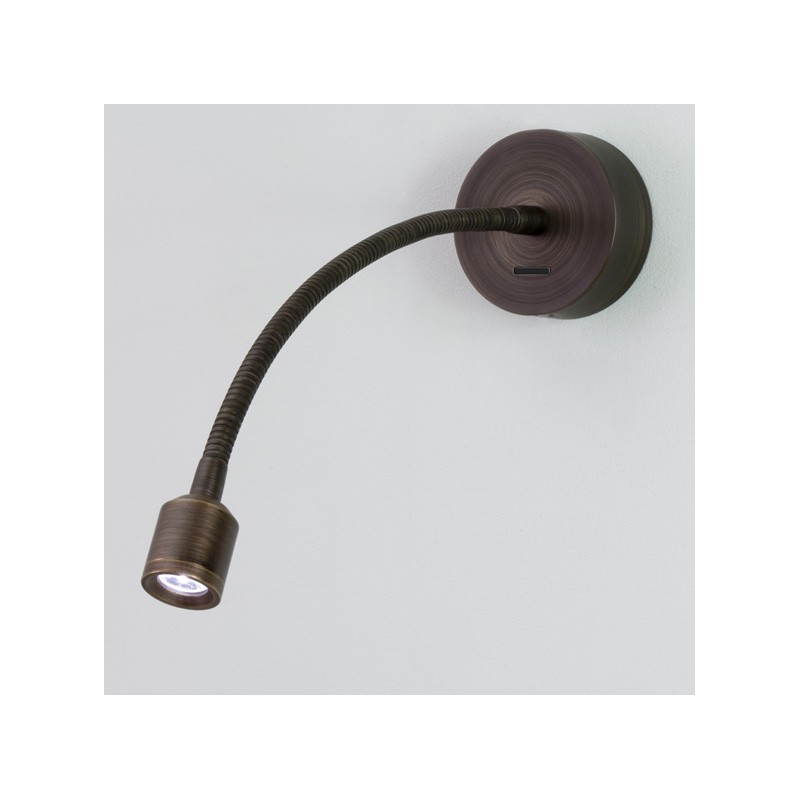 Applique murale led fosso bronze avec interrupteur astro lighting for Applique cuisine avec interrupteur