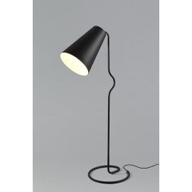 Lampadaire Bender noir Northern Lighting