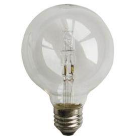 Ampoule halogène globe ø80 E27 28W