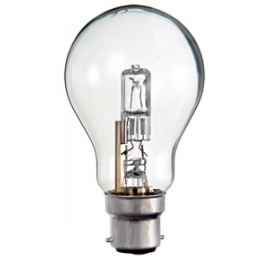 Ampoule halogène standard B22 52W