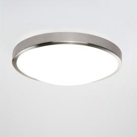 Plafonnier LED Osaka chromé avec détecteur