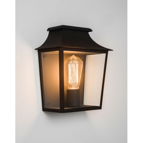 demi applique murale richmond noire astro lighting. Black Bedroom Furniture Sets. Home Design Ideas