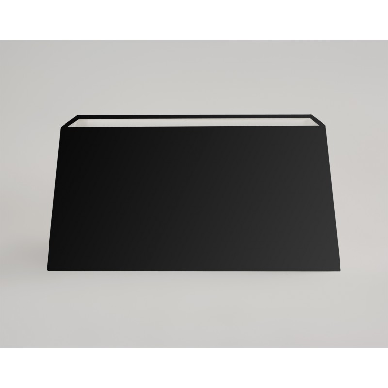 abat jour taper rectangle noir astro lighting. Black Bedroom Furniture Sets. Home Design Ideas