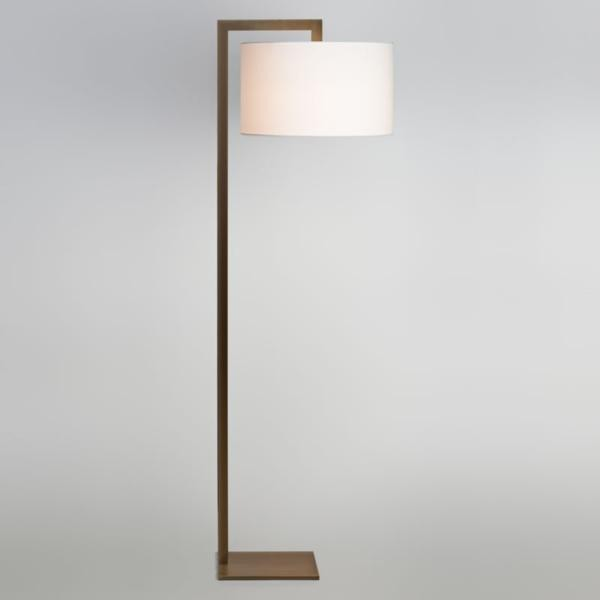 lampadaire bronze