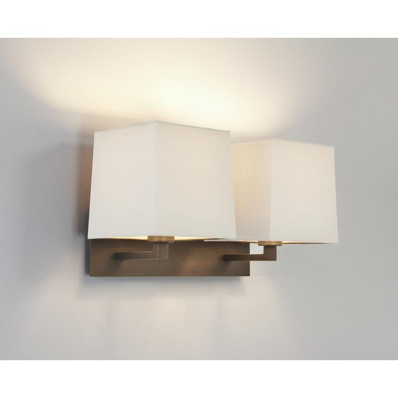 applique murale azumi double bronze astro lighting. Black Bedroom Furniture Sets. Home Design Ideas