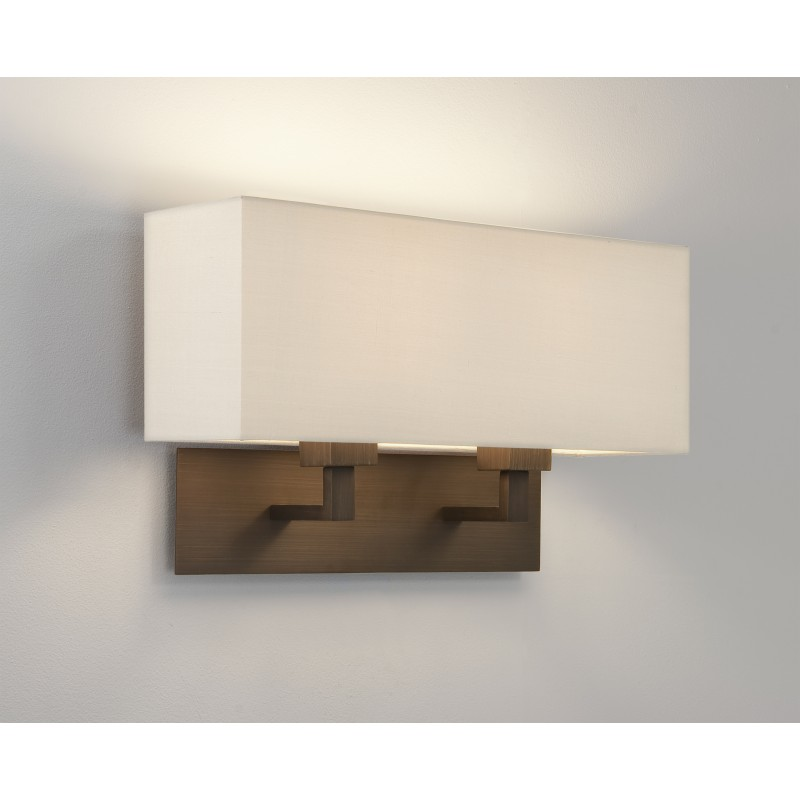 applique murale park lane grande double bronze astro lighting. Black Bedroom Furniture Sets. Home Design Ideas