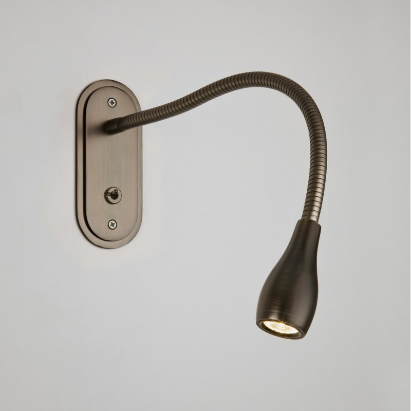 Applique Murale Led Lindos Bronze Avec Interrupteur Astro Lighting