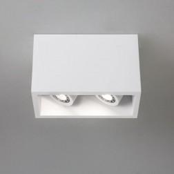 Plafonnier LED orientable Osca 140 double