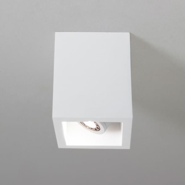 Plafonnier LED orientable Osca 140 carré Astro Lighting