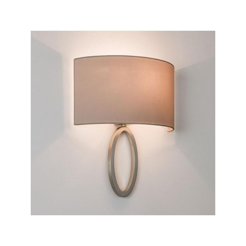 Applique murale lima nickel mat astro lighting - Applique murale interieure ...