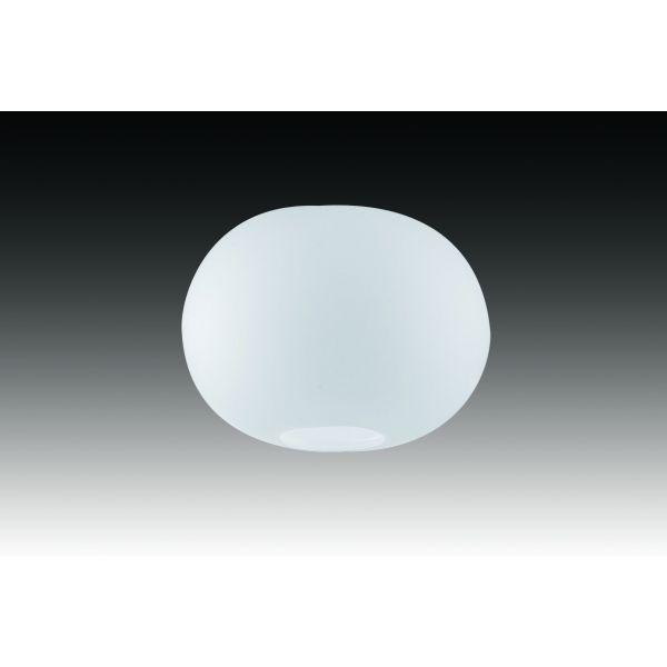 Verre Ovale Opale Mat à Fond Percé M6 Licht Micro3hv Track3