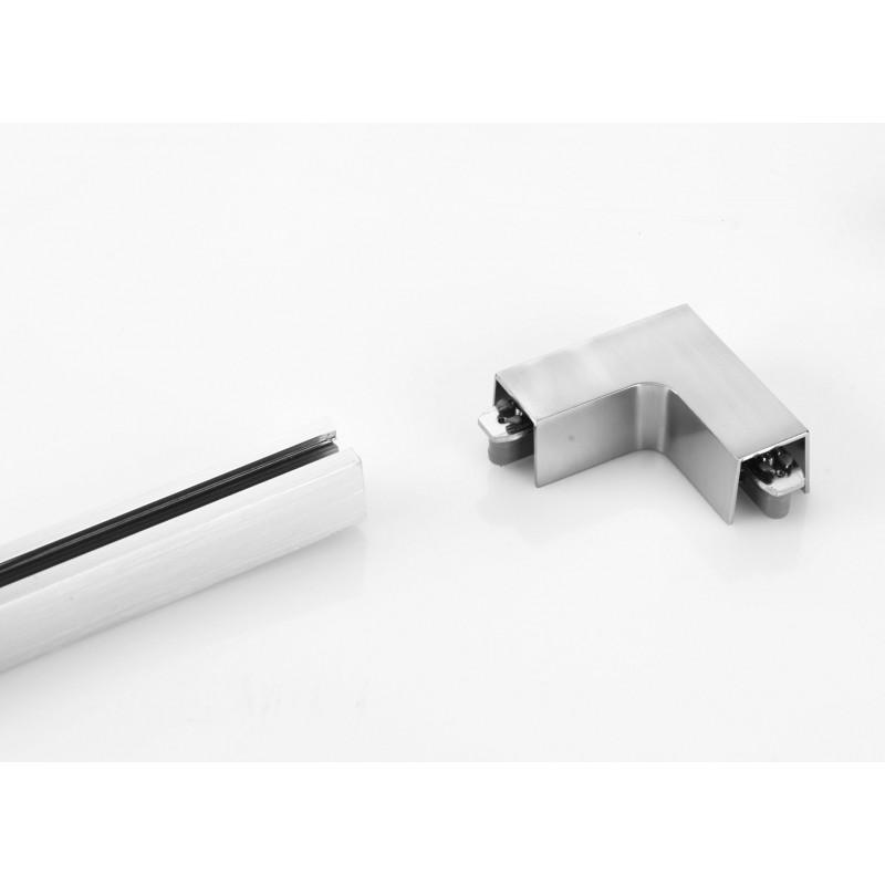 angle droit pour rails m6 licht hv track4 fischer leuchten. Black Bedroom Furniture Sets. Home Design Ideas