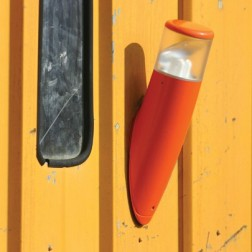 Applique murale Bamboo 37cm Orange