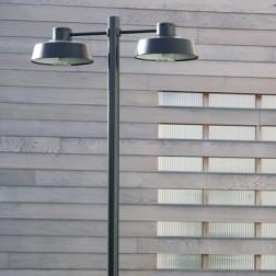 Lampadaire Faktory 2 lumières Noir