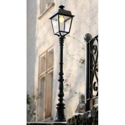 Borne Place des Vosges 1 - Evolution 1m31 Gris ardoise