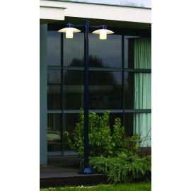 Lampadaire Aubanne 2 lumières Bleu