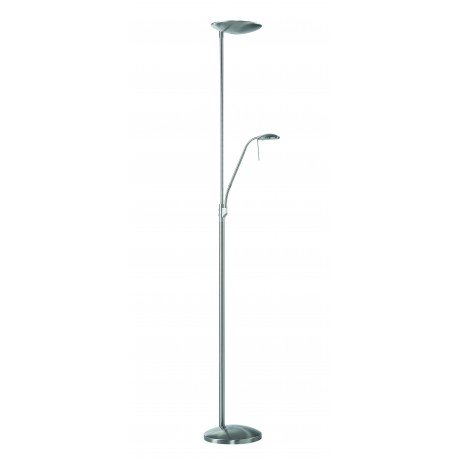 Lampadaire LED Koa Chrome Mat LaBoutiqueDuLuminaire