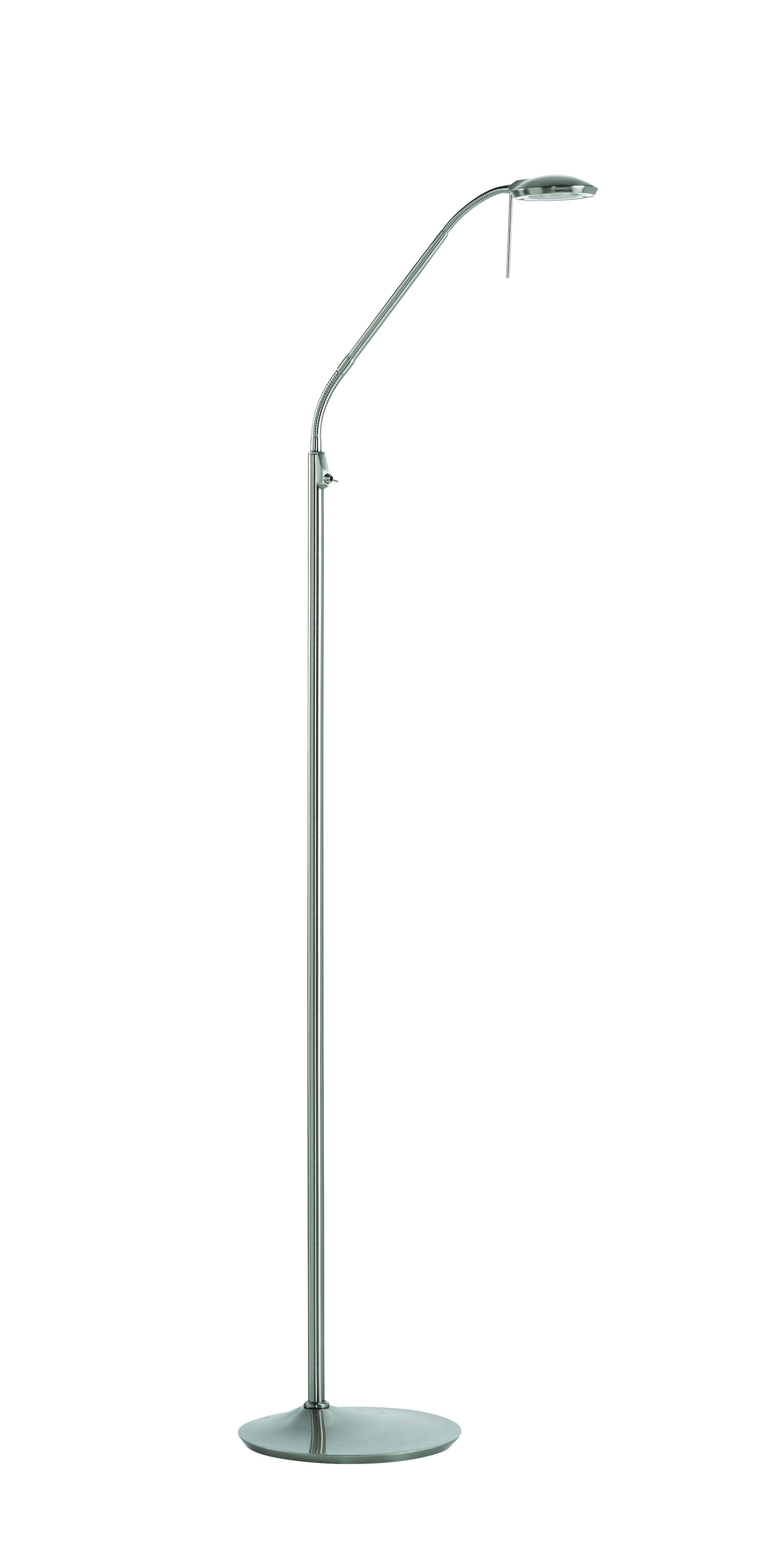 liseuse led sur pied koa chrome mat 5 Incroyable Lampe Led Sur Pied Ojr7