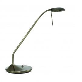 Liseuse / Lampe de chevet LED Koa Laiton Patiné