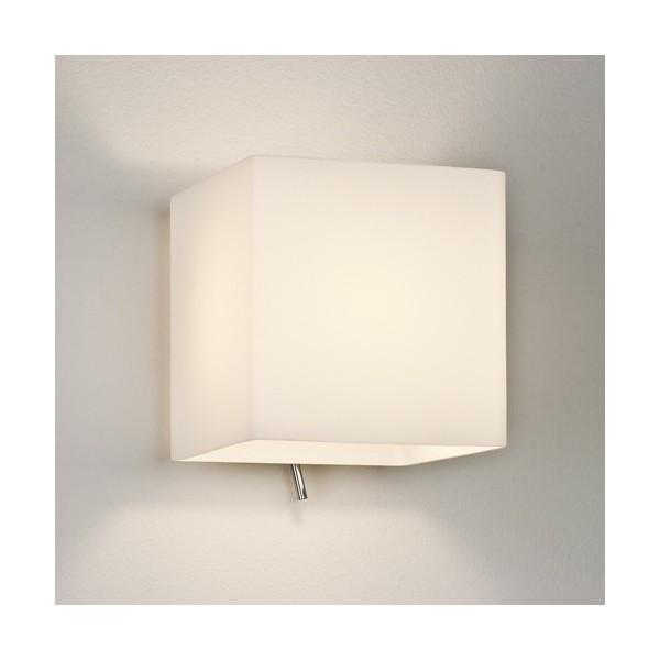 applique murale luga carr avec interrupteur astro lighting. Black Bedroom Furniture Sets. Home Design Ideas