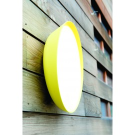 Applique murale Roger Pradier Mona jaune