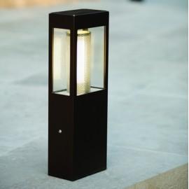 Borne Tetra LED noire 50cm roger pradier