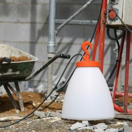 Lampe à poser Grumo 60cm Orange Roger Pradier