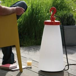 Lampe à poser Grumo 70cm Orange Roger Pradier