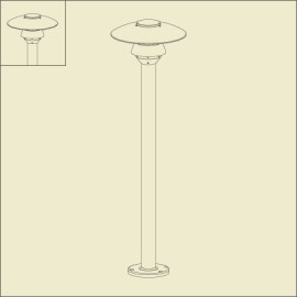 Borne Stratos 110cm Gris anthracite